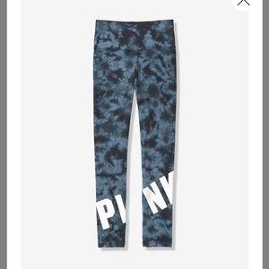 Vs Pink Tye Dye Leggings High Waist Medium